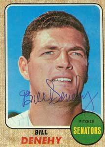 Bill Denehy Baseball Card Image